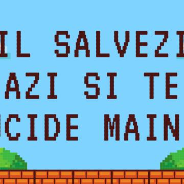Il salvezi azi si te ucide maine